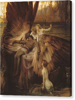 Lament Of Icarus Canvas Print