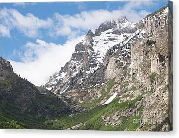 Lamoille Canyon Canvas Print by Vinnie Oakes