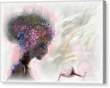 L'amour Perdu Canvas Print by Freddy Kirsheh