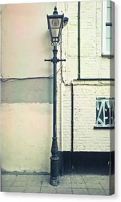 Lamp Post Canvas Print by Tom Gowanlock