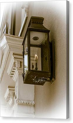 Canvas Print featuring the photograph Lamp Unto My Feet by Sennie Pierson