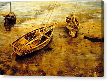 Lamu Dhows Canvas Print