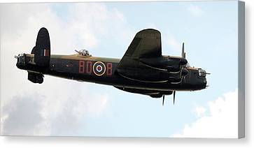Lancaster Bomber Canvas Print by /us Air Force