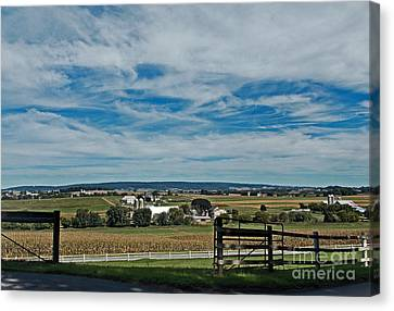 Lancaster County Canvas Print by Skip Willits