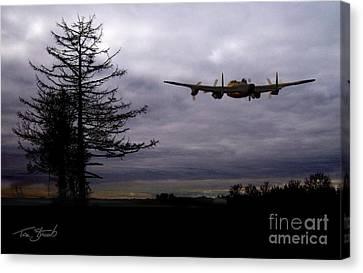 Lancaster Flight  Canvas Print by Tom Straub