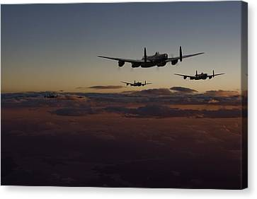 Lancaster -mainstream Canvas Print by Pat Speirs