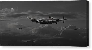 Lancaster - No More............. Canvas Print by Pat Speirs