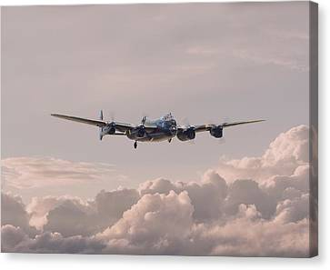 Lancaster - Summer Dawn Canvas Print by Pat Speirs