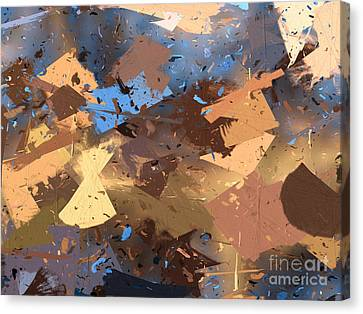 Land And Sea Canvas Print by Heidi Smith