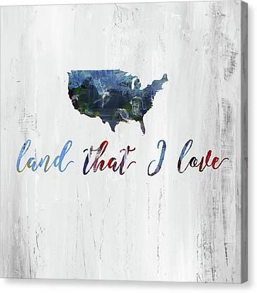 Land I Love Canvas Print by Pamela J. Wingard