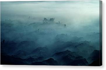 Land Of Fog Canvas Print by Rudi Gunawan