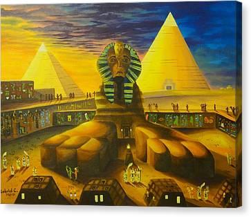 Land Of Pharaohs Canvas Print