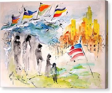 Land Of Plenty Canvas Print by Mary Spyridon Thompson