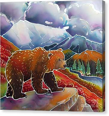 Land Of The Great Bear Canvas Print by Harriet Peck Taylor