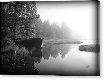 Land Of The Lost Canvas Print by Greg DeBeck