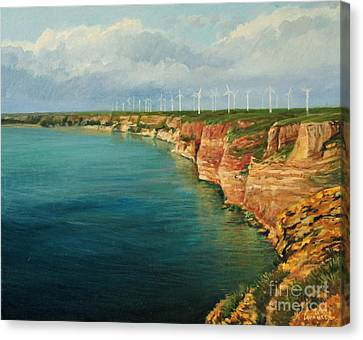 Land Of The Winds Canvas Print by Kiril Stanchev