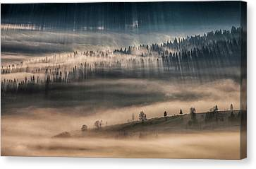 Land Of Thousands Shadows Canvas Print