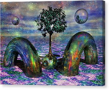 Land Of World 8624028 Canvas Print by Betsy Knapp