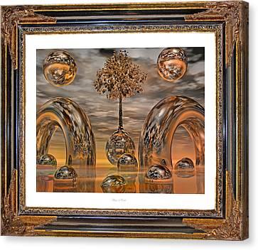 Land Of World 8624042 Framed Canvas Print by Betsy Knapp
