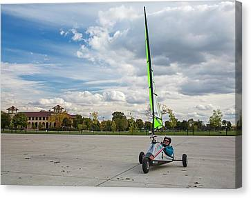 Belle Isle Canvas Print - Land Yachting by Jim West