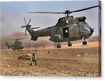 Landing Zone Canvas Print by Paul Job