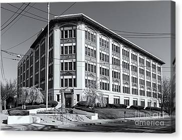 Landmark Life Savers Building II Canvas Print by Clarence Holmes