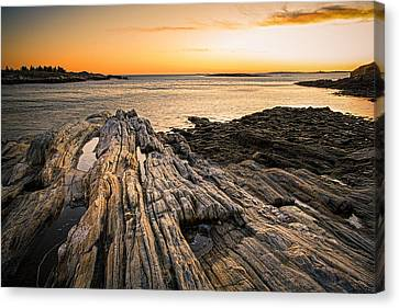 Lands End Canvas Print by Robert Clifford