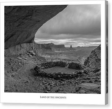 Lands Of The Ancients Canvas Print