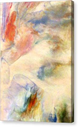 Canvas Print featuring the painting Landscape 3 by Mike Breau