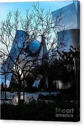 La Philharmonic Canvas Print - Landscape A100h Los Angeles by Otri Park