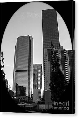 La Philharmonic Canvas Print - Landscape A10h Los Angeles by Otri Park