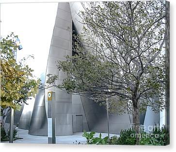 La Philharmonic Canvas Print - Landscape A10p Los Angeles by Otri Park
