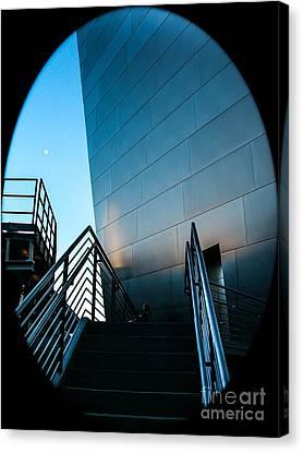 La Philharmonic Canvas Print - Landscape A80e Los Angeles by Otri Park