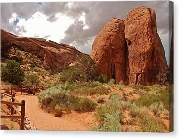 Landscape Arch - Utah Canvas Print