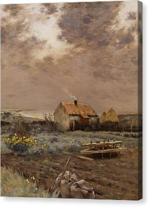 Landscape Canvas Print by Jean Charles Cazin