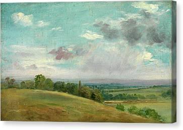 Landscape Landscape Near Dedham Summer Landscape Near Dedham Canvas Print