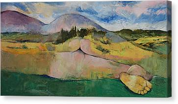 Landscape Canvas Print by Michael Creese