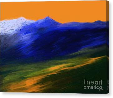 Landscape No 210 Canvas Print by Shesh Tantry