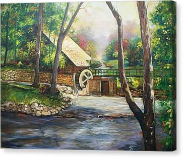 Landscape Of Love Canvas Print by Emery Franklin