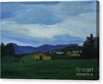Landscape Of Sola Norway Canvas Print