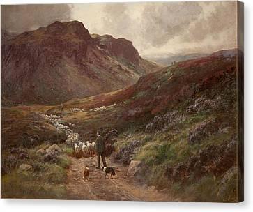 Landscape Canvas Print by Stephen Enoch Hogley