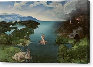 Landscape With Charon Crossing The Styx Canvas Print