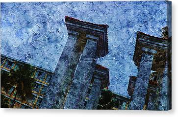 Public Holiday Canvas Print - Landscape In Pr by Xueyin Chen