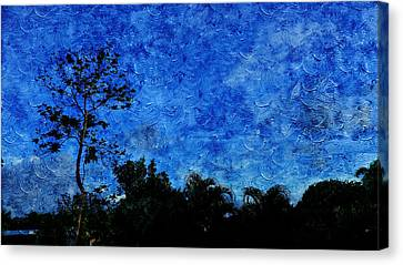 Public Holiday Canvas Print - Landscapes In Blue Sky by Xueyin Chen