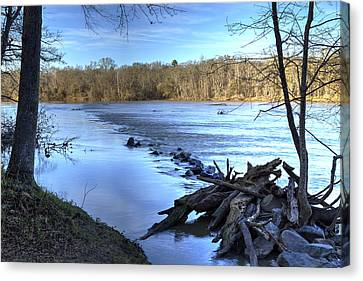 Landsford Canal-1 Canvas Print by Charles Hite