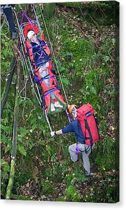 Langdale Ambleside Mountain Rescue Canvas Print