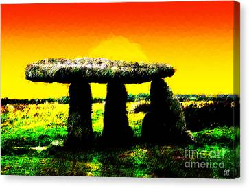 Lanyon Quoit Canvas Print by Neil Finnemore