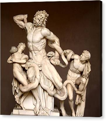 Laocoon And Sons Canvas Print