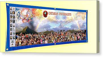 Large Banner 15x4 Canvas Print
