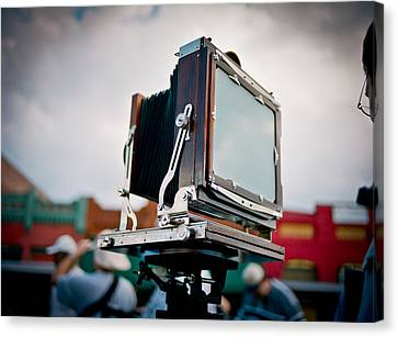 Large Format Film Camera Canvas Print by Linda Unger